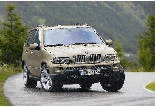 BMW X5 kombi złoty przedni prawy