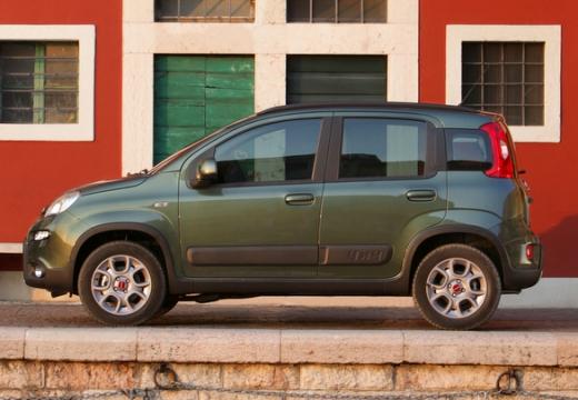 FIAT Panda III hatchback zielony boczny lewy