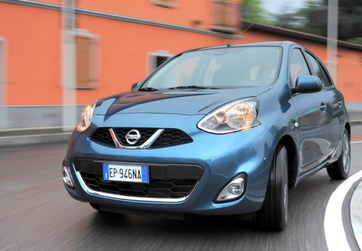 NISSAN Micra IX hatchback niebieski jasny przedni lewy