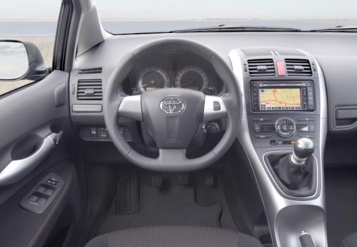 Toyota Auris II hatchback tablica rozdzielcza