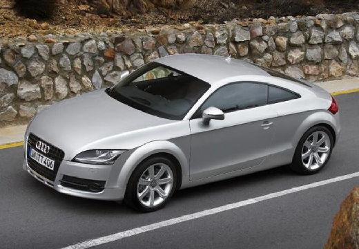 AUDI TT I coupe silver grey przedni lewy
