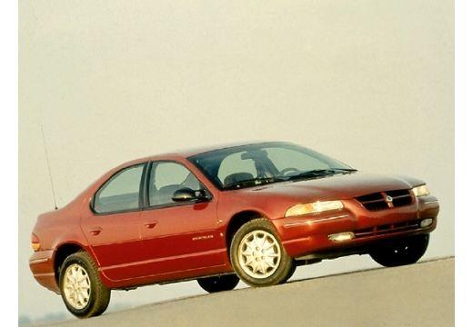 DODGE Stratus I sedan bordeaux (czerwony ciemny) przedni prawy