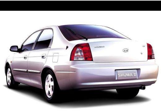 KIA Shuma hatchback biały tylny lewy