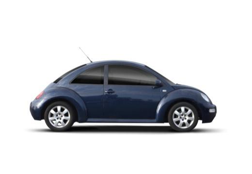 VOLKSWAGEN New Beetle I coupe niebieski jasny boczny prawy