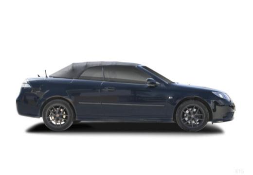 SAAB 9-3 Cabriolet III kabriolet czarny boczny prawy