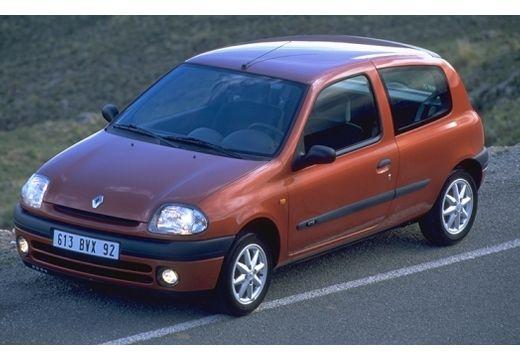 RENAULT Clio II I hatchback brązowy górny przedni