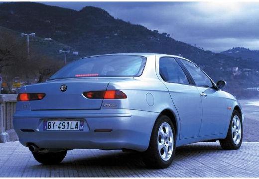 ALFA ROMEO 156 II sedan silver grey tylny prawy