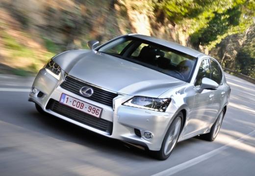 LEXUS GS IV sedan silver grey przedni lewy