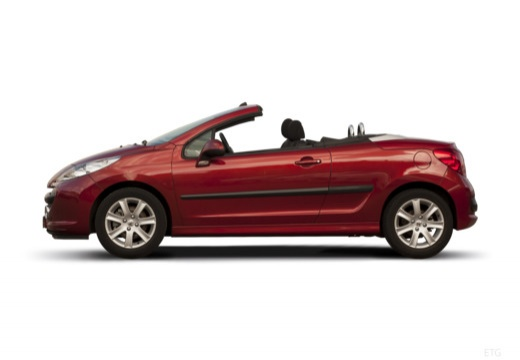PEUGEOT 207 kabriolet boczny lewy