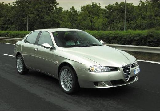 ALFA ROMEO 156 III sedan silver grey przedni prawy