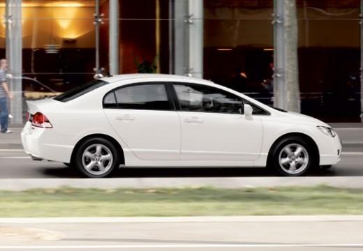 HONDA Civic sedan biały tylny prawy