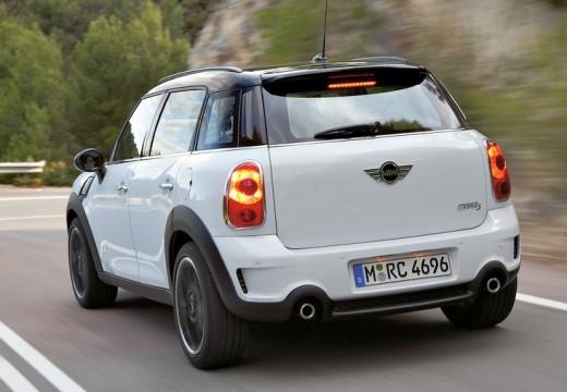 MINI [BMW] Mini MINI Countryman kombi biały tylny lewy