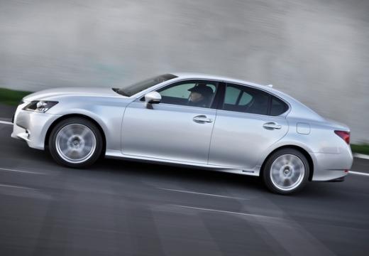 LEXUS GS IV sedan silver grey boczny lewy