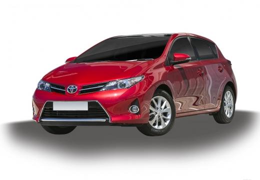 Toyota Auris I hatchback czerwony jasny