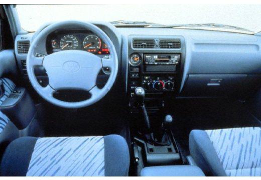 Toyota Land Cruiser III kombi tablica rozdzielcza