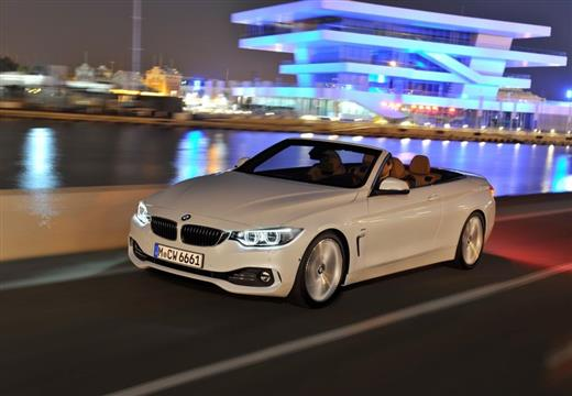 BMW 435i Sport Line Kabriolet Cabrio F33 3.0 306KM (benzyna)