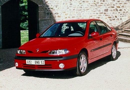 RENAULT Laguna hatchback czerwony jasny przedni lewy