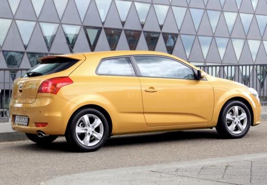 KIA Ceed Proceed III hatchback żółty tylny prawy