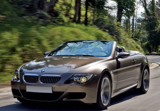 BMW Seria 6 Cabriolet E64 II kabriolet beige