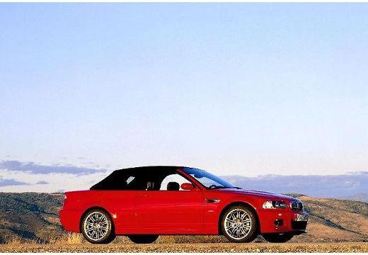 BMW Seria 3 kabriolet czerwony jasny przedni prawy