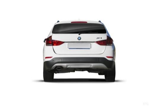 BMW X1 X 1 E84 II kombi biały tylny
