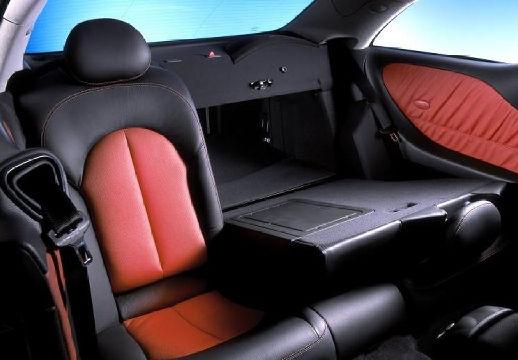 MERCEDES-BENZ Klasa CLK CLK C 209 I coupe wnętrze
