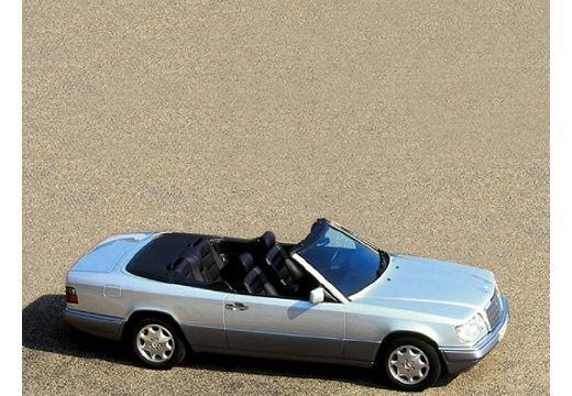 MERCEDES-BENZ Klasa E Cabrio 124 kabriolet silver grey boczny prawy