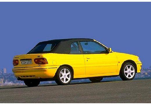 FORD Escort Cabriolet III kabriolet żółty tylny prawy