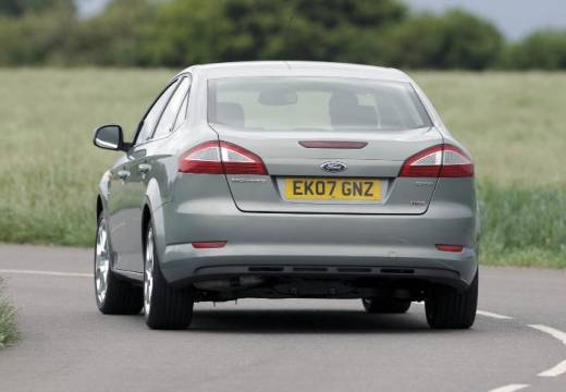 FORD Mondeo VI sedan silver grey tylny lewy