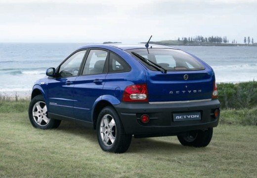 SSANG YONG Actyon hatchback niebieski jasny tylny lewy