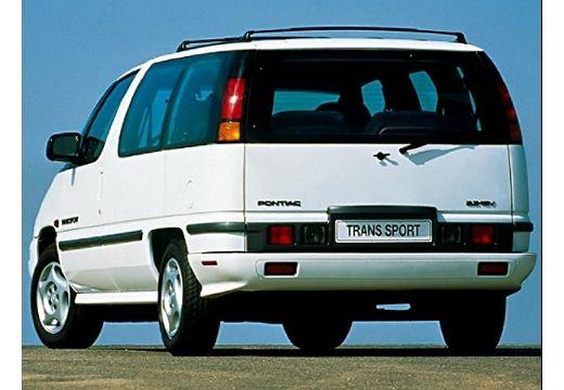 PONTIAC Trans Sport II van biały tylny lewy