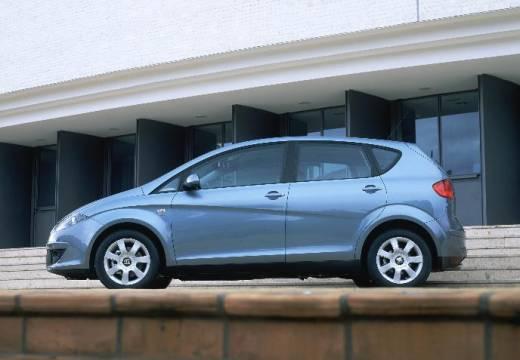 SEAT Altea I hatchback niebieski jasny boczny lewy