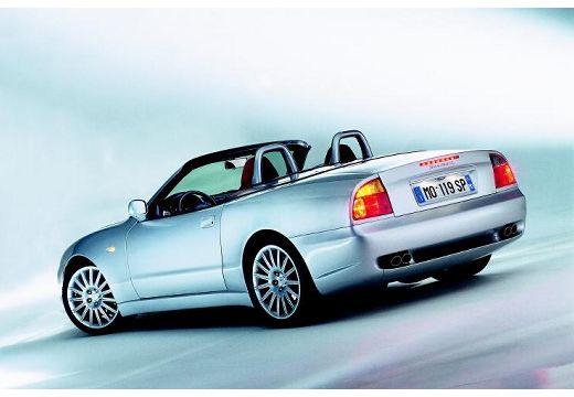 MASERATI 4200 Spyder roadster silver grey tylny lewy