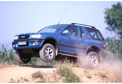 OPEL Frontera kombi niebieski jasny przedni lewy