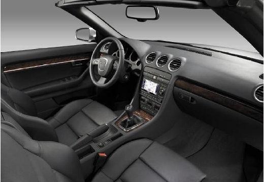 AUDI A4 Cabriolet 8H II kabriolet silver grey wnętrze