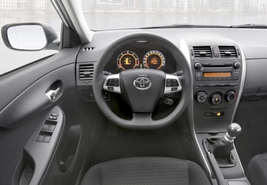 Toyota Corolla II sedan tablica rozdzielcza