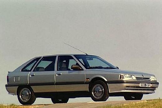 RENAULT R21 hatchback silver grey przedni prawy
