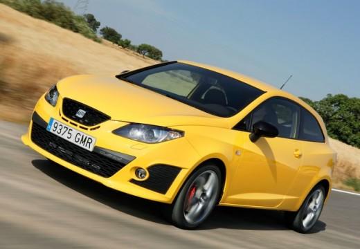 SEAT Ibiza V hatchback żółty przedni lewy