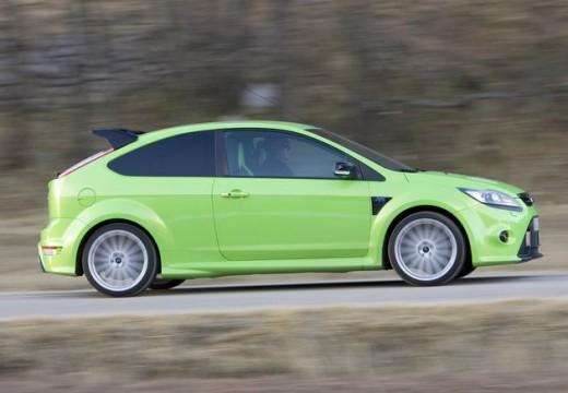 FORD Focus IV hatchback zielony boczny prawy