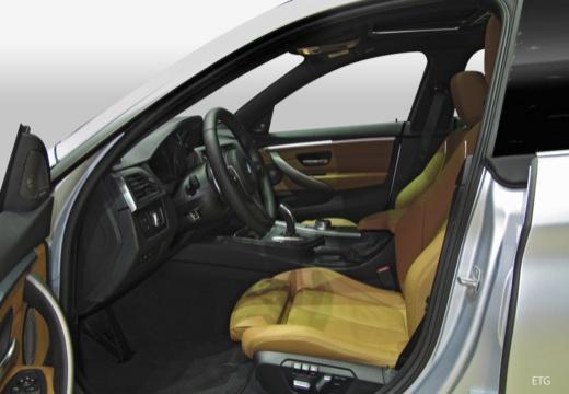 BMW Seria 4 Gran Coupe F36 II hatchback wnętrze