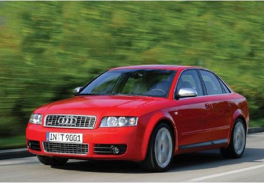 AUDI A4 8E I sedan czerwony jasny przedni lewy