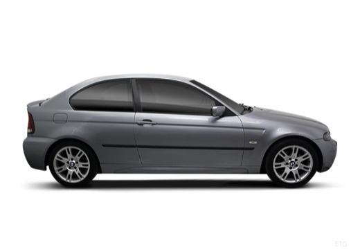 BMW Seria 3 hatchback boczny prawy