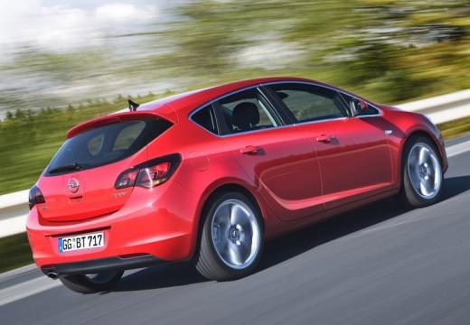 OPEL Astra IV I hatchback czerwony jasny tylny prawy