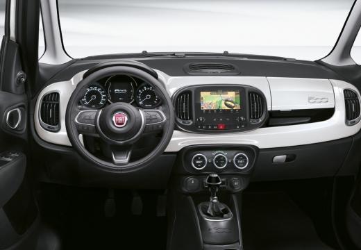 FIAT 500 hatchback tablica rozdzielcza
