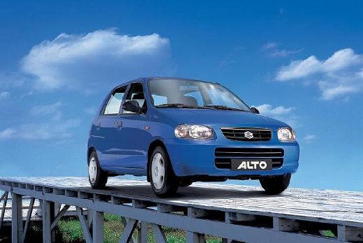 SUZUKI Alto III hatchback niebieski jasny przedni prawy