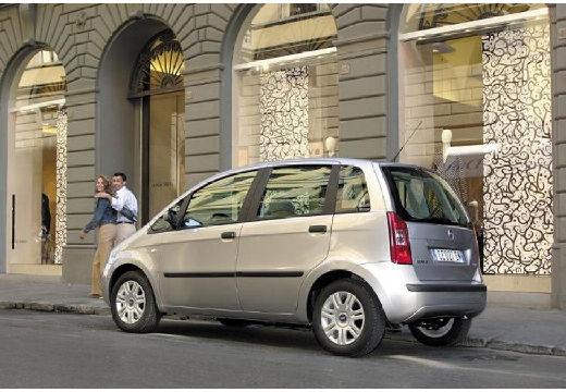 FIAT Idea I kombi silver grey tylny lewy