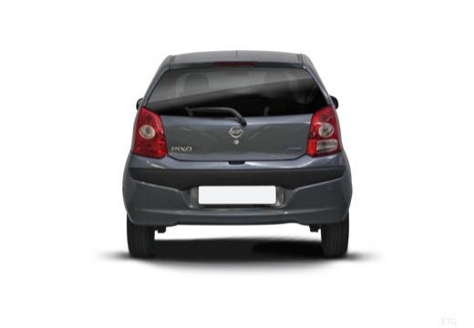 NISSAN Pixo hatchback tylny