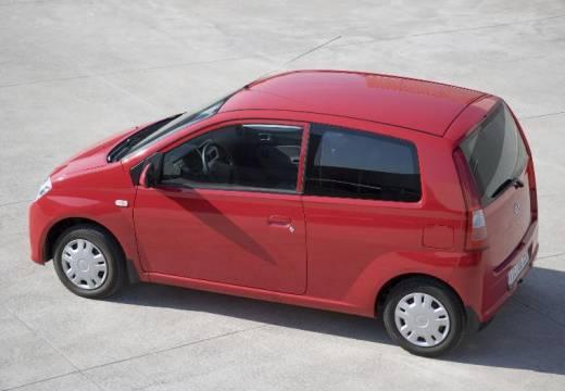 DAIHATSU Cuore hatchback czerwony jasny tylny lewy