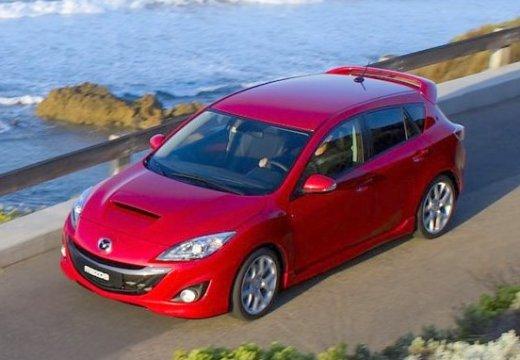 MAZDA 3 III hatchback czerwony jasny przedni lewy