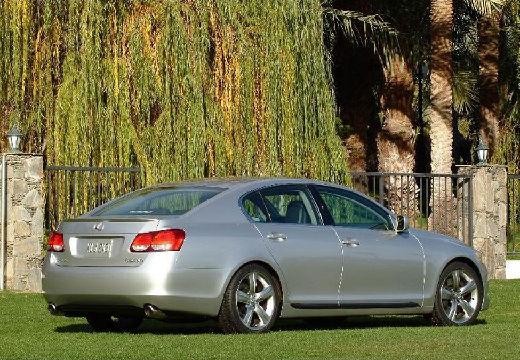 LEXUS GS II sedan silver grey tylny prawy